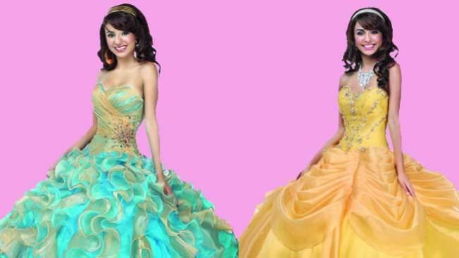 Disney y sus vestidos para quinceañeras
