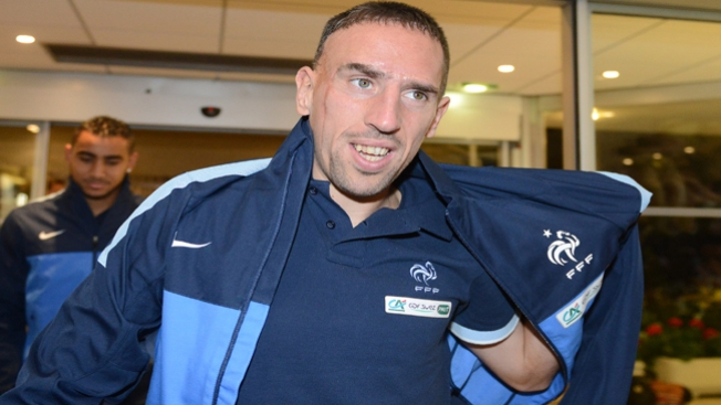 Ribery, otra baja en Mundial de Brasil