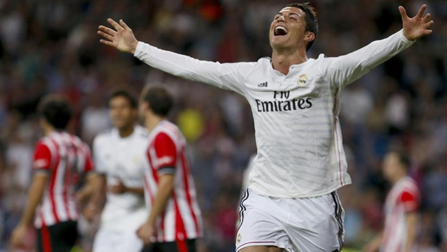 Ronaldo iguala récord en fútbol español
