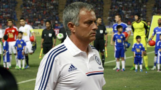 El Madrid se reencuentra con Mourinho