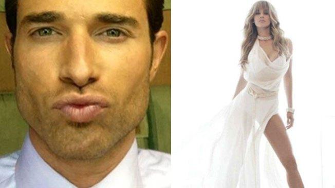 Sebastián y Aracely, ¡que pareja!