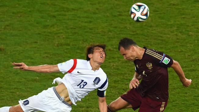 Rusia y Corea quedan 1-1