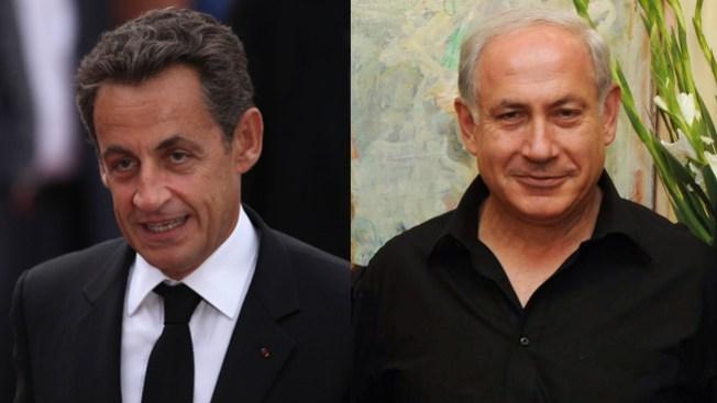 Sarkozy no soporta a Netanyahu
