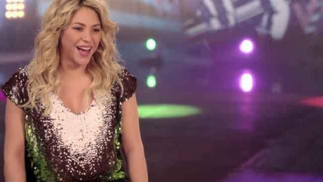 Shakira, feliz pero con libras de más