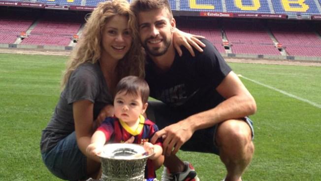Fotos: Hijo de Shakira con la Supercopa