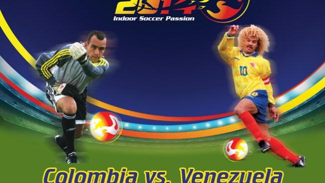 Chocan Colombia y Venezuela en fútbol