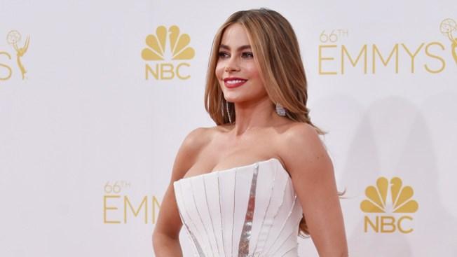 Sofía Vergara, ¡radiante en los Emmy!
