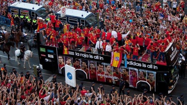 ¡España está de fiesta!