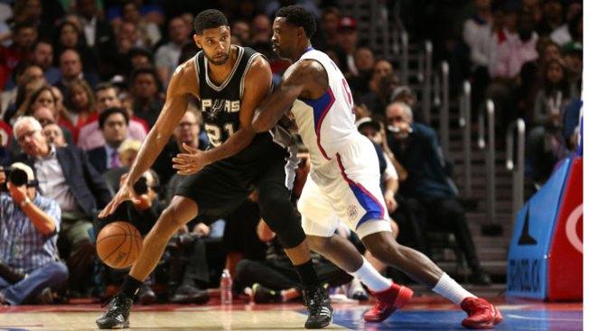 Spurs superan a Clippers por 4 puntos