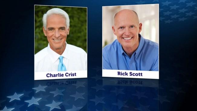En vivo: Debate Rick Scott vs Charlie Crist