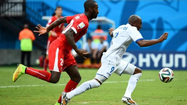 Suiza se impone ante Honduras