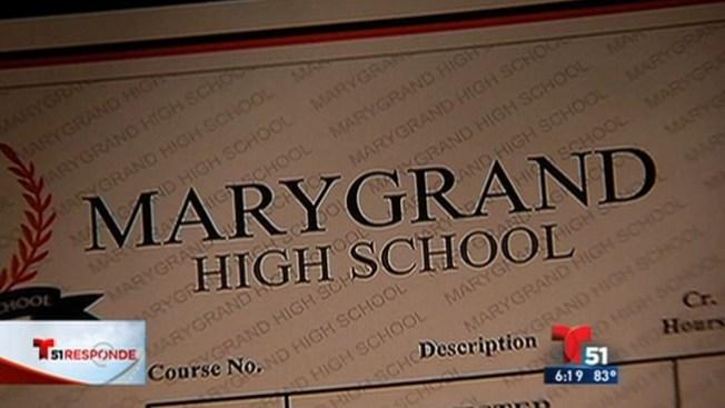 Diplomas falsos en escuelas virtuales