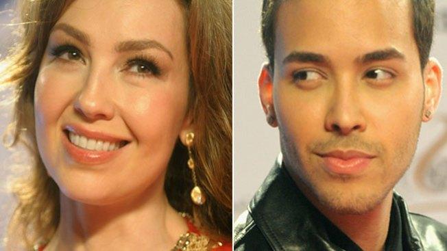 Thalía y Prince Royce en dueto explosivo