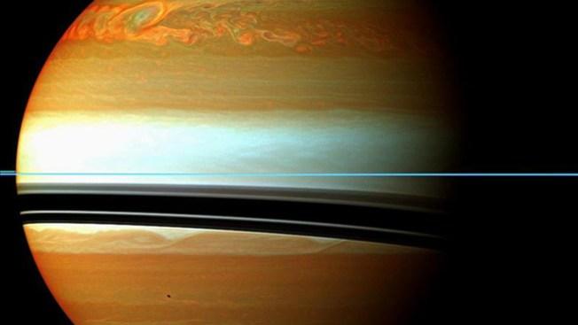 Detectan descomunal tormenta en Saturno