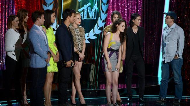 MTV Movie Awards: la fiesta de los vampiros