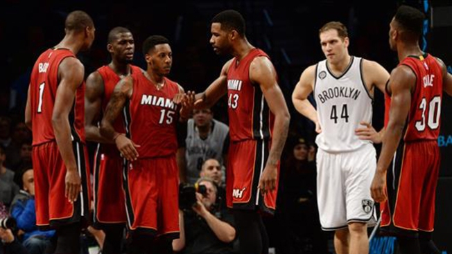 El Heat vence a los Nets de Brooklyn