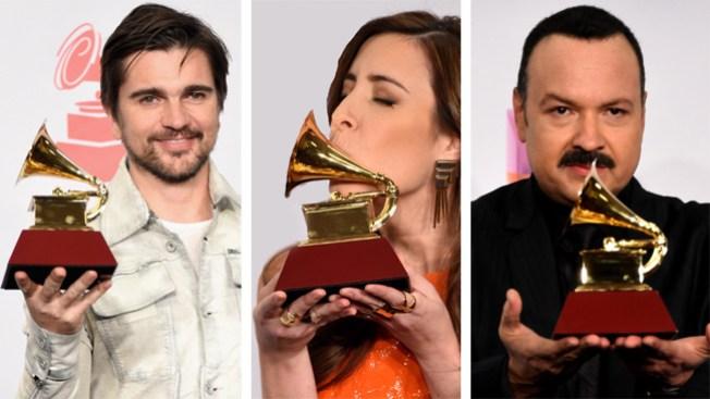 Lista de ganadores de los Latin Grammy