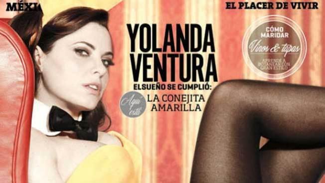 De Parchís a Playboy, ¡Yolanda Ventura se desnuda!