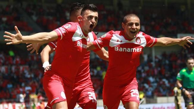 Toluca golea 3-0 a Dorados y América vence 2-1 a Guadalajara