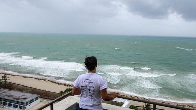 Da a luz en medio de la furia del huracán Irma