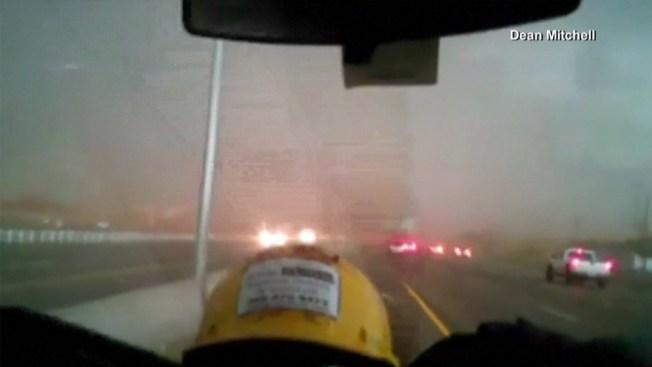 Captado en cámara: el tornado de Oklahoma