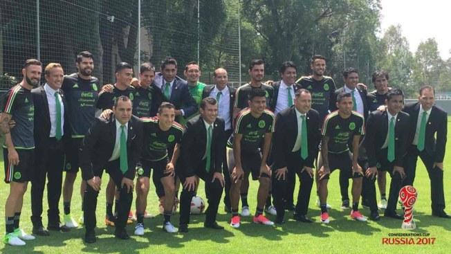 México debuta con empate ante Portugal