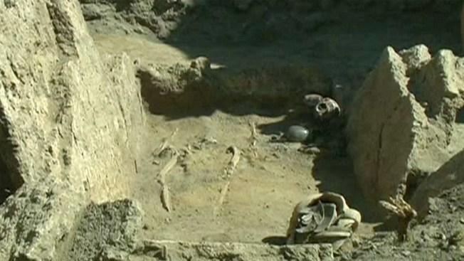 Descubren antigua tumba en Pompeya