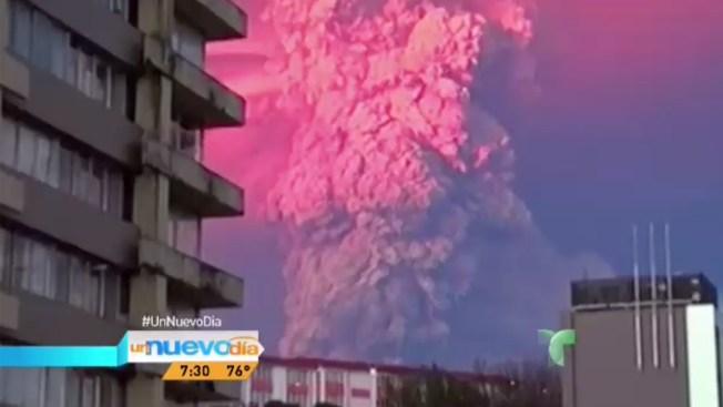 Volcán Calbuco amenaza con otra erupción