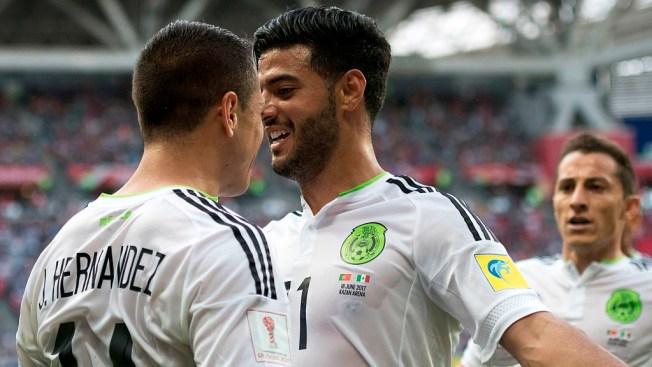 Por las semis: Chucky Lozano anota el 2-1 para México