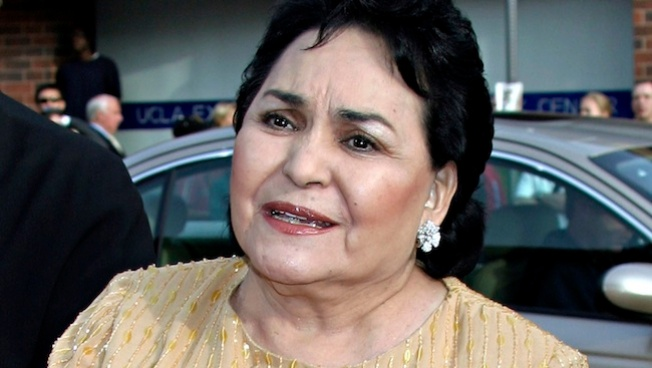 Carmen Salinas, de luto