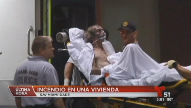 Miami-Dade: Dos heridos tras voraz incendio