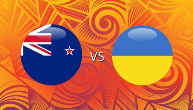 En vivo: Nueva Zelanda vs. Ucrania