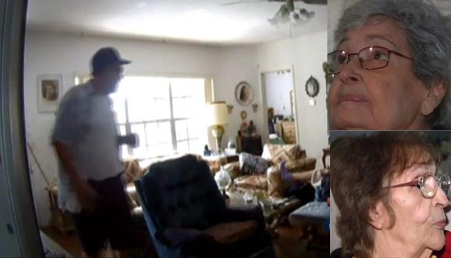 Ancianas robadas en su propia casa