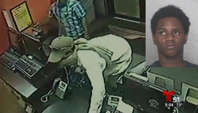 Arrestan sospechosos de robo en Pizza Hut