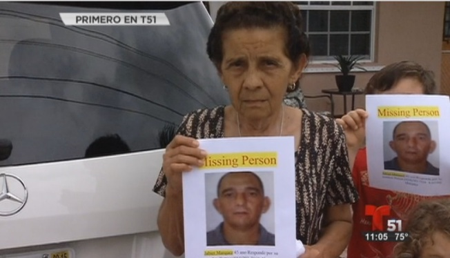 Hialeah: Buscan a hombre desaparecido