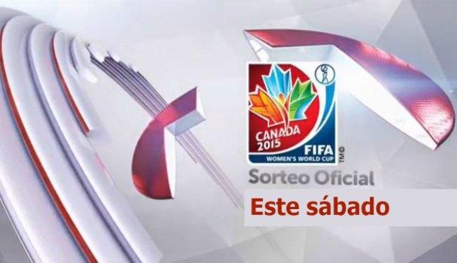 Sorteo del Mundial de Fútbol Femenino