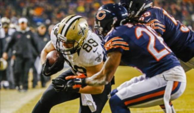 Saints propinan otra derrota a los Bears