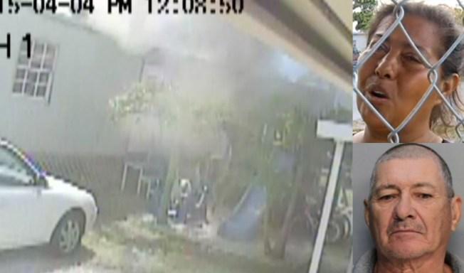 Acusado de incendiar trailer con dueña dentro