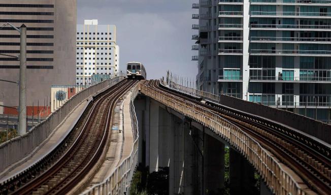 Metrorail al aeropuerto de Miami