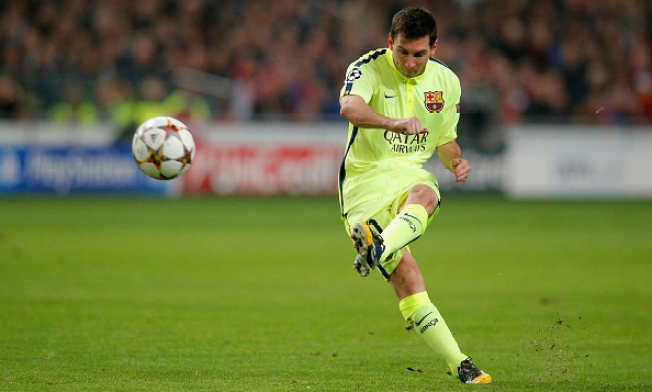 Messi alcanza nuevo récord