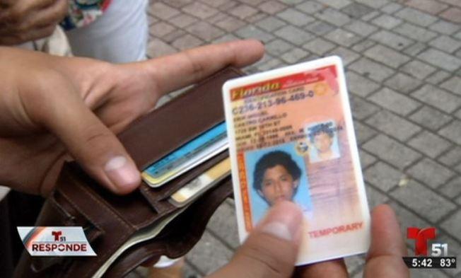 Carnet de Identidad de la Florida para Turistas