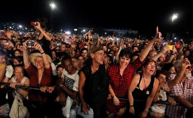 Los Rolling Stones reunieron a 1.2 millones en Cuba