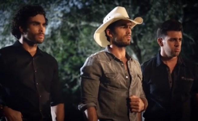 """Los tres guapos de """"Tierra de Reyes"""""""