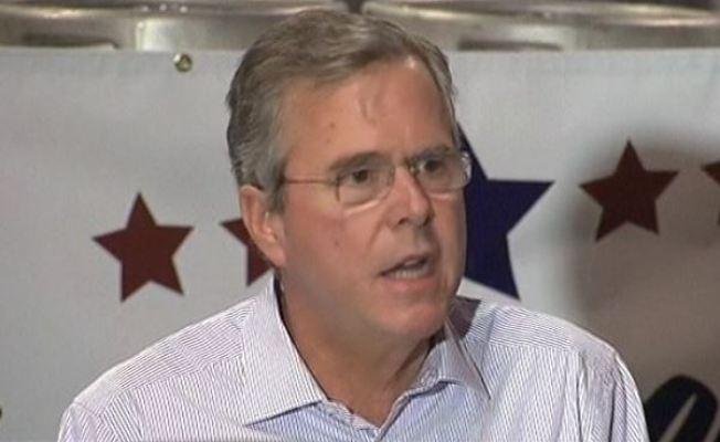 Jeb Bush visita el sur de Florida