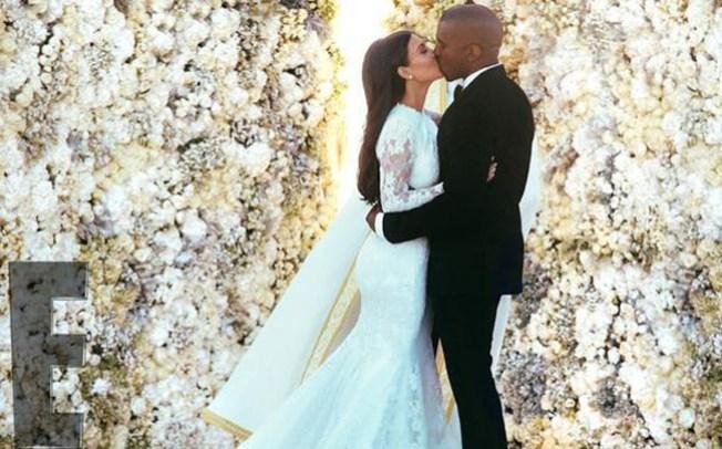 Fotos: Kim Kardashian vestida de novia