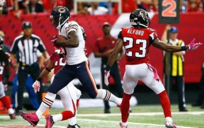 Bears se sacan la espina contra Falcons