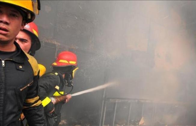 Arrasador incendio en zona oriental de Cuba