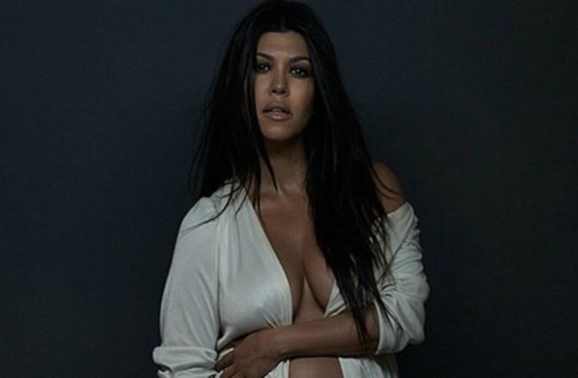 """Otra del clan Kardashian posa """"desnuda"""""""