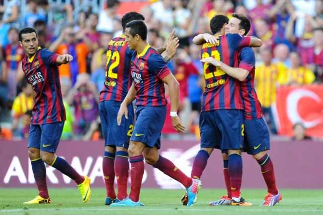 El Barça busca su 1r título ante el Atlético