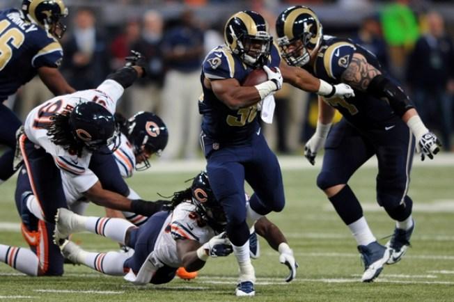 Los Rams aplanaron a los Bears